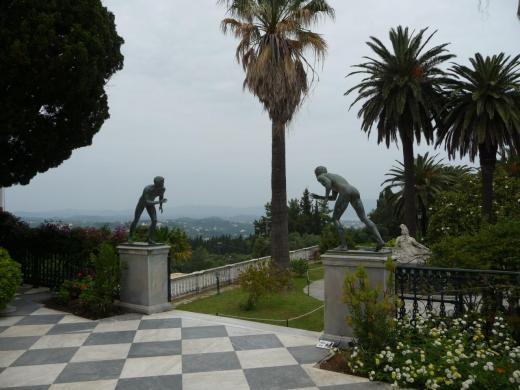 Terrasse et vue sur le jardin
