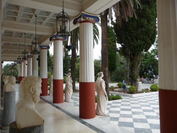 Colonnade, détail