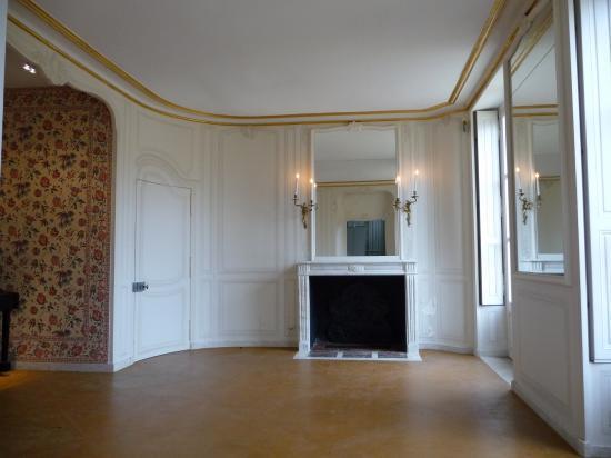 Petite chambre du marquis de Voyer au rez-de-chaussée