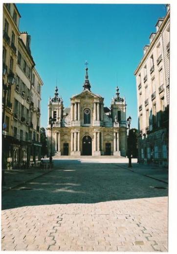 Cathédrale Saint-Louis de Versailles (Yvelines)