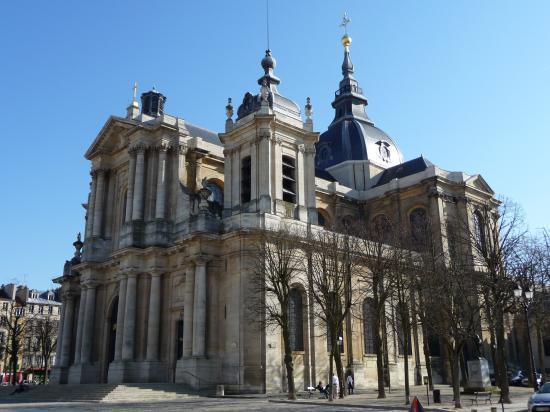 La cathédrale, côté Potager du roi