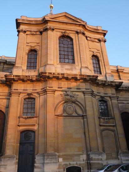 Elévation du transept côté Potager du roi