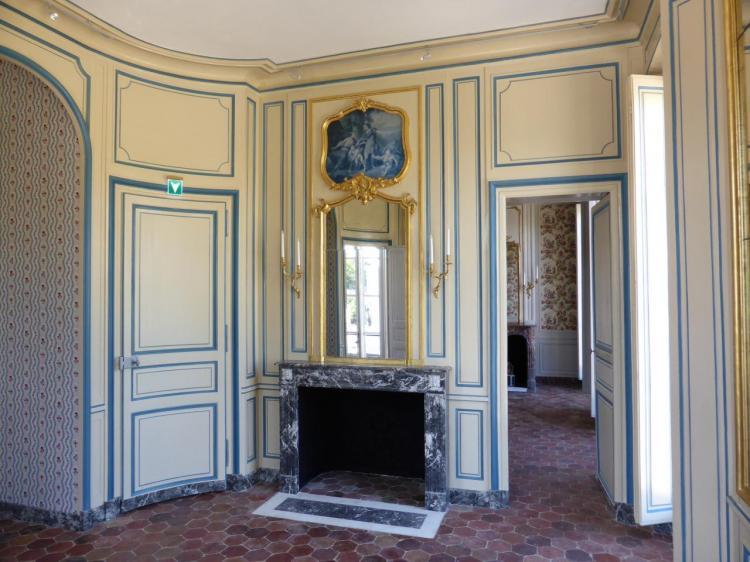 Chambre bleue, 1er étage