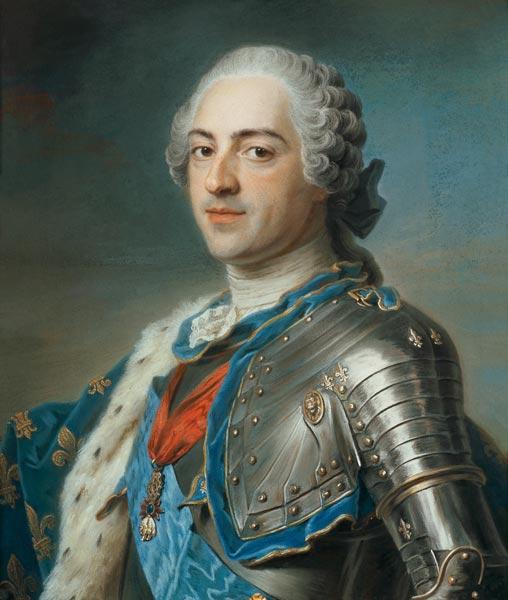 Maurice-Quentin de La Tour : Louis XV, 1748, musée duLouvre