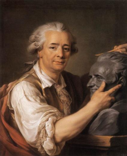 A. Labille Guiard : Augustin Pajou, 1783, Louvre