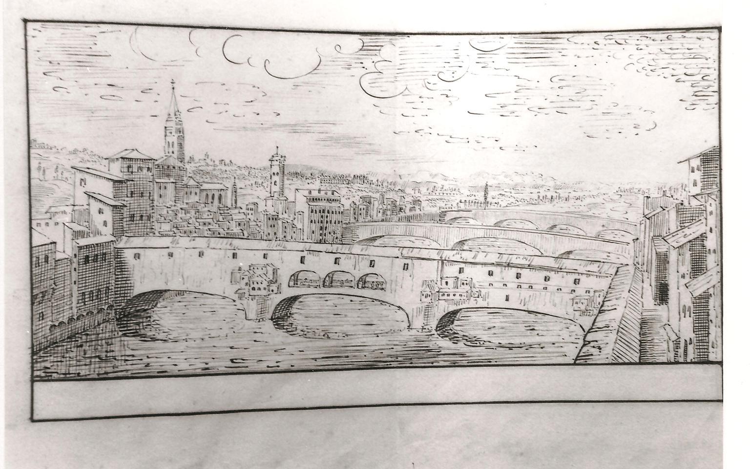 Florence, le Ponte Vecchio (cl. Ph. Cachau)