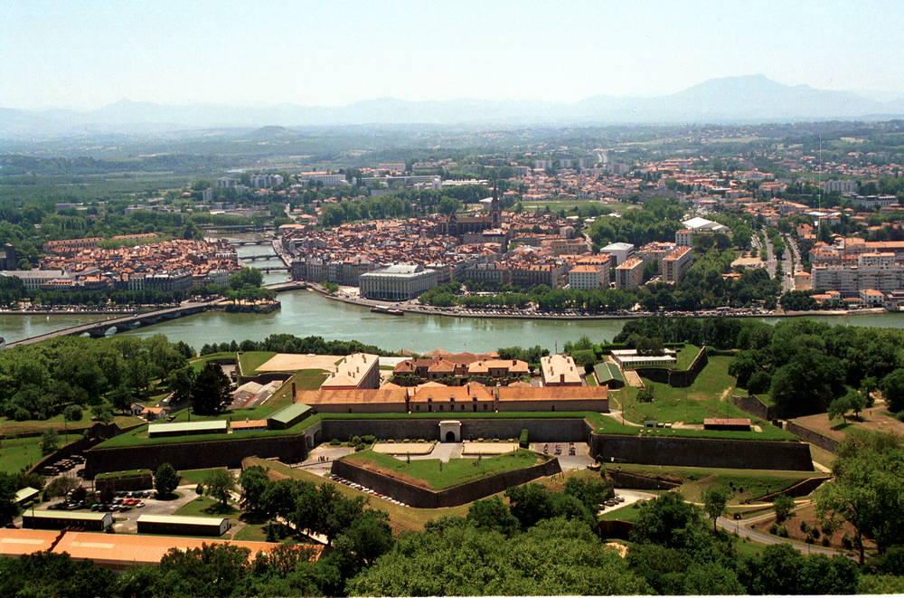 Bayonne depuis la citadelle