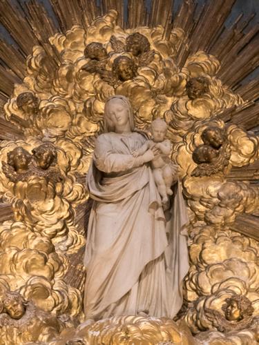 Dominique Malkenecht, Vierge à l'enfant, cathédrale Saint-Louis, 1835-1837