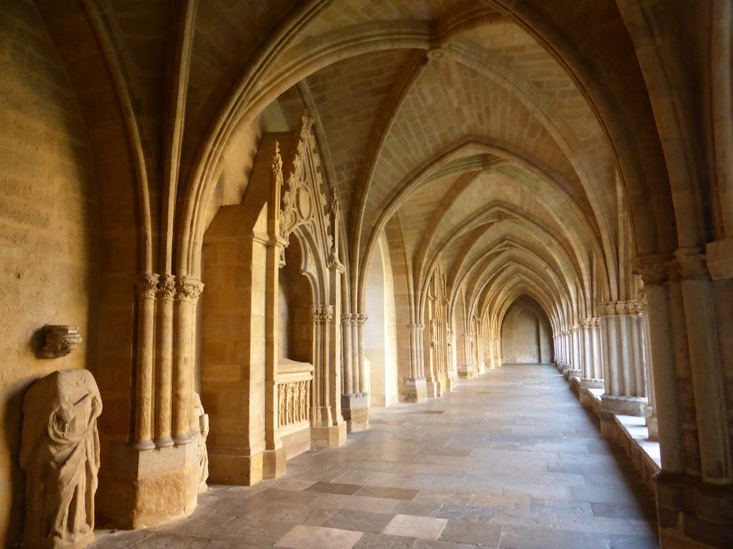 Cloître gothique de la cathédrale