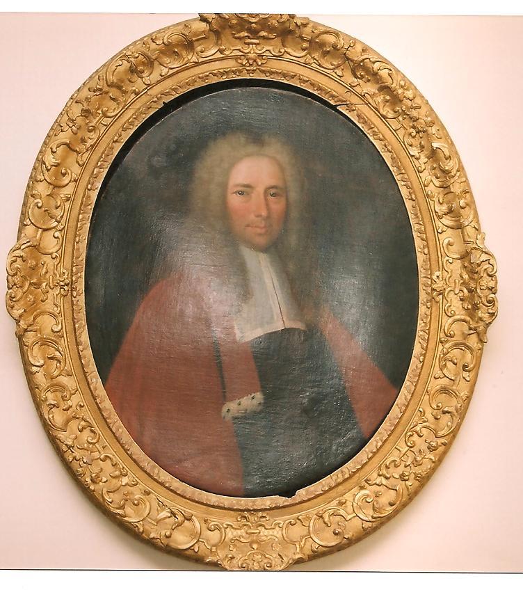 Anonyme XVIIIe : Jacques Hardouin-Mansart, vers 1701, coll. privée, cl. Ph. Cachau)