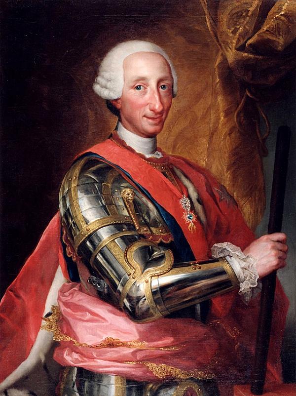 Anton Rafael Mengs : Charles III d'Espagne, Prado, Madrid
