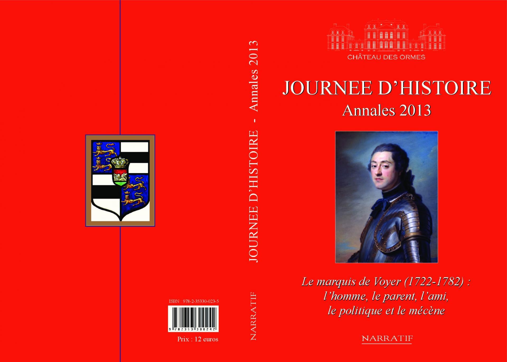Couverture annales 2013
