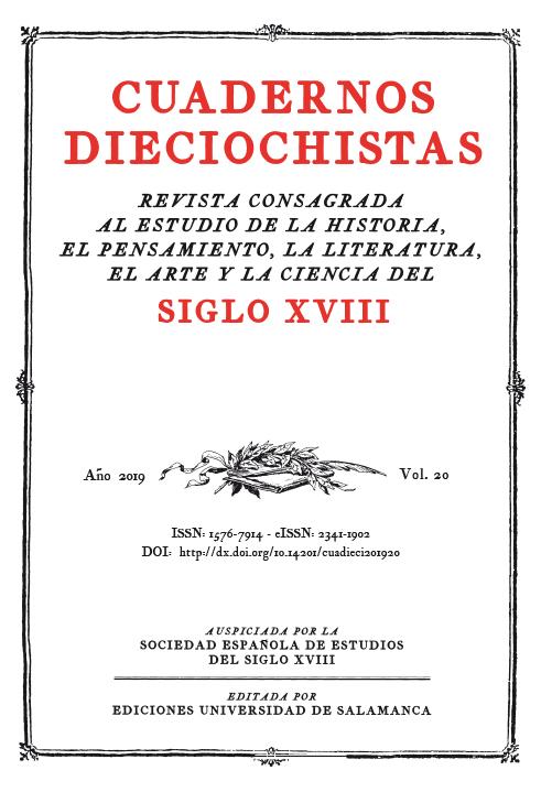 Cuadernos Dieciochistas, vol. 20, 2019