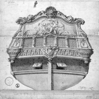 François-Antoine Vassé, Le Triton, 1724