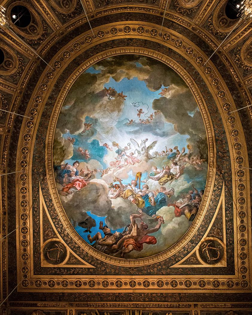Faux Plafond Motif : Influences hôtel d argenson sur opéra royal de versailles