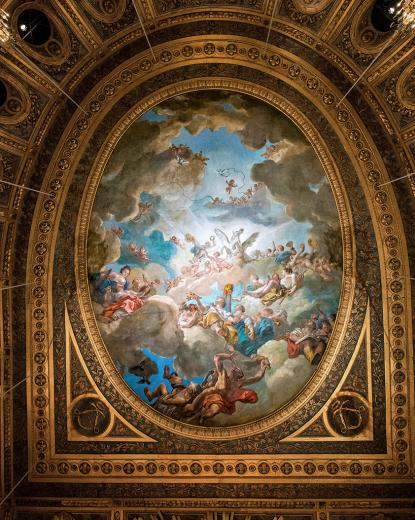 L.-J. Durameau : Apollon couronnant les arts, 1769-1770
