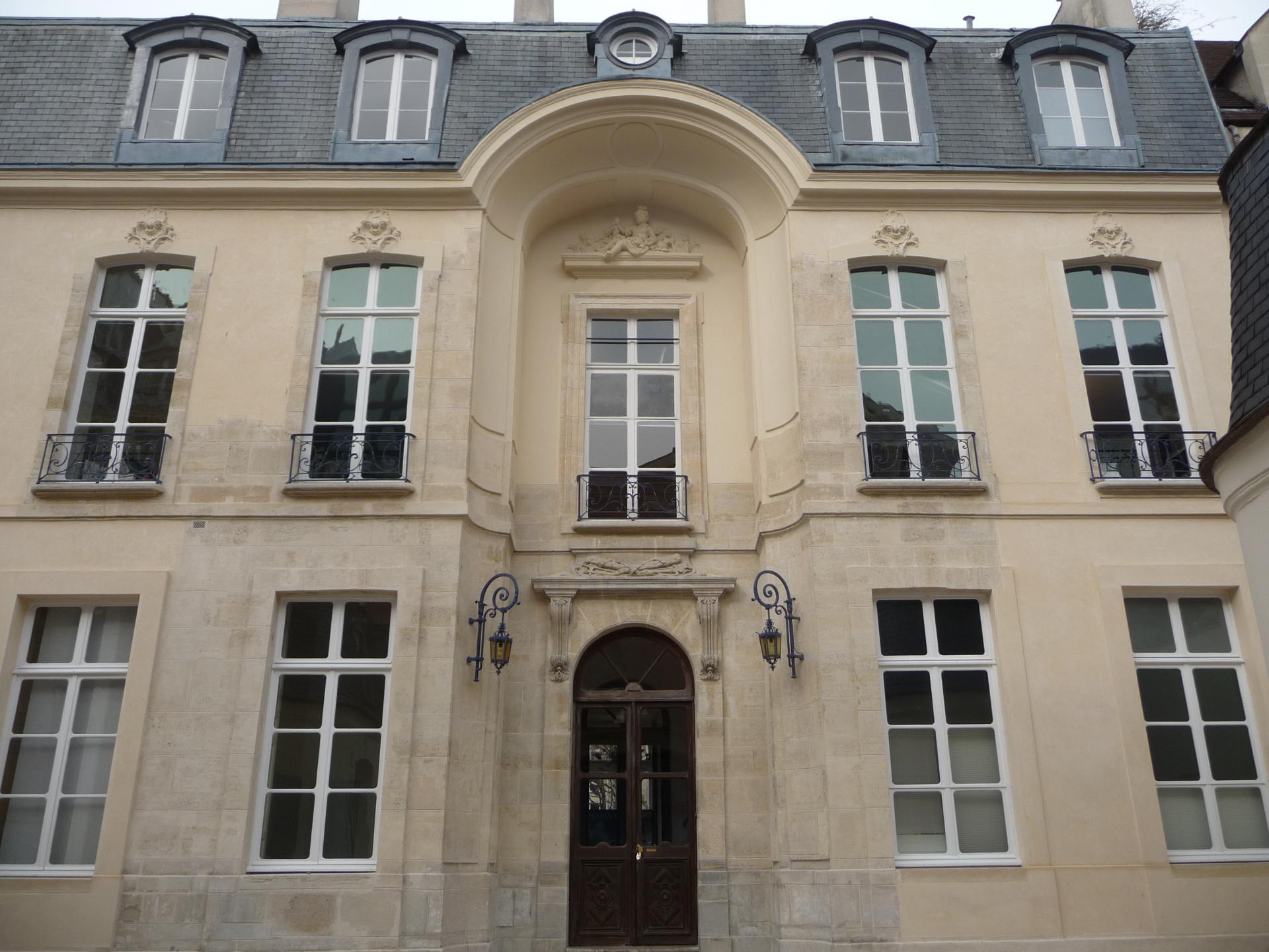 Pierre Delisle-Mansart : Hôtel Delisle-Mansart, rue Saint-Gilles, Paris, 1684-1685, cl. Ph. Cachau