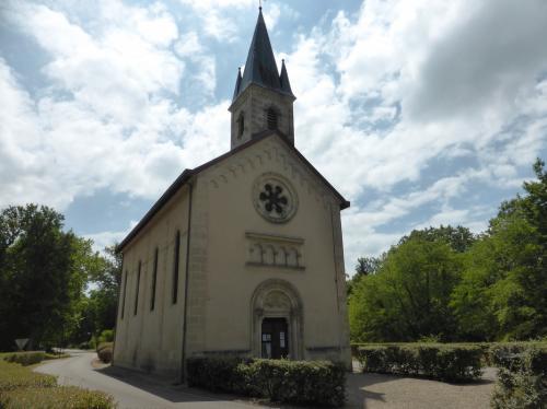 Eglise Sainte-Eugenie, Solférino, Landes (cl. Ph. Cachau)