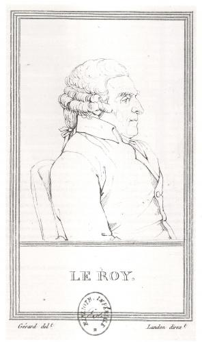 François Gérard : Julien-David Leroy, BNF
