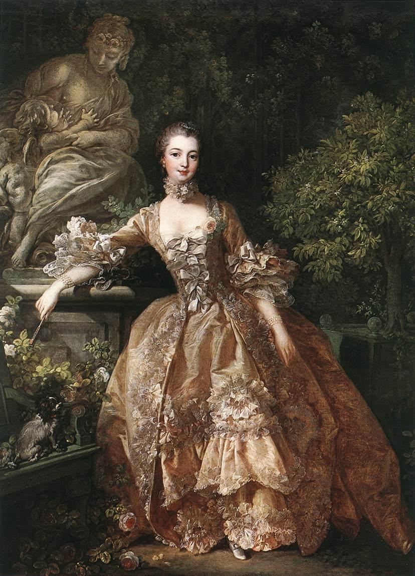 Francois Boucher : Mme de Pompadour, Londres,1759