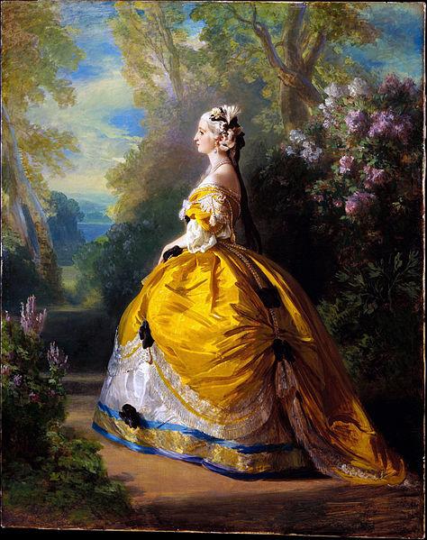 Franz Xaver Winterhalter, Eugénie en Marie-Antoinette, 1854