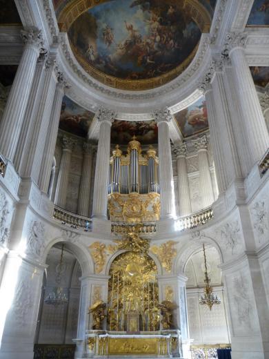 Hardouin-Mansart, maitre-autel chapelle royale Versailles
