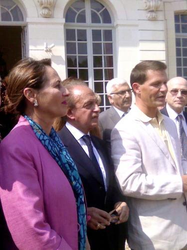 Visite de Ségolène Royal aux Ormes, juin 2013