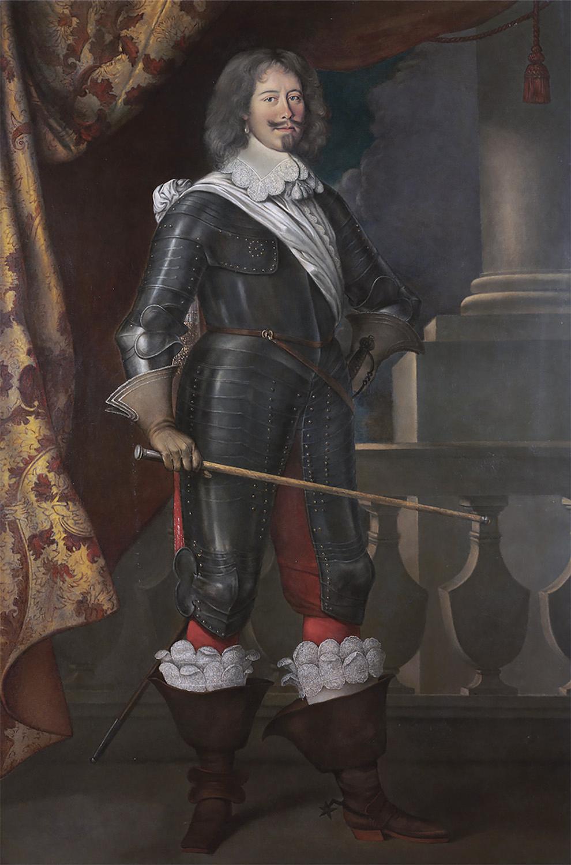 Antoine Le Nain : Jean-Arnaud de Peyre, comte de Tréville, 1644 (New York, coll. privée)