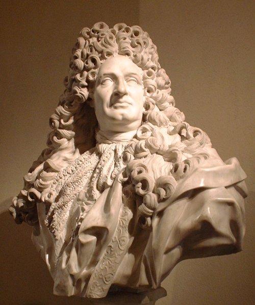 Jean-Louis Lemoyne, Jules Hardouin-Mansart, 1703, Louvre