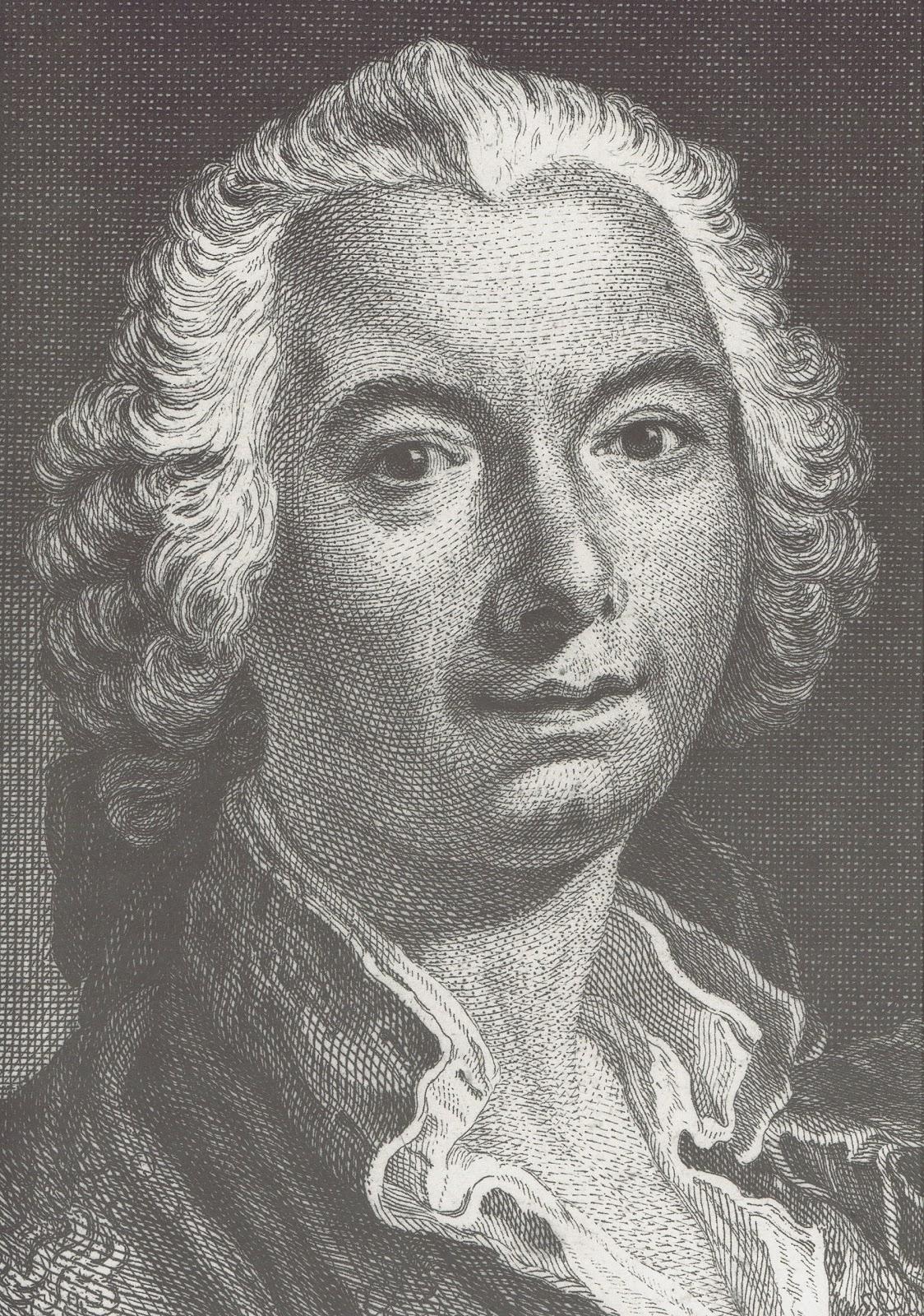 Nicolas Dauphin de Beauvais : Juste-Aurèle Meissonnier, vers 1745 (détail)