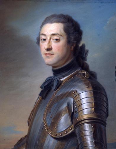 M. Quentin Latour : Marc-René de Voyer d'Argenson, marquis de Voyer, 1751, Saint-Quentin