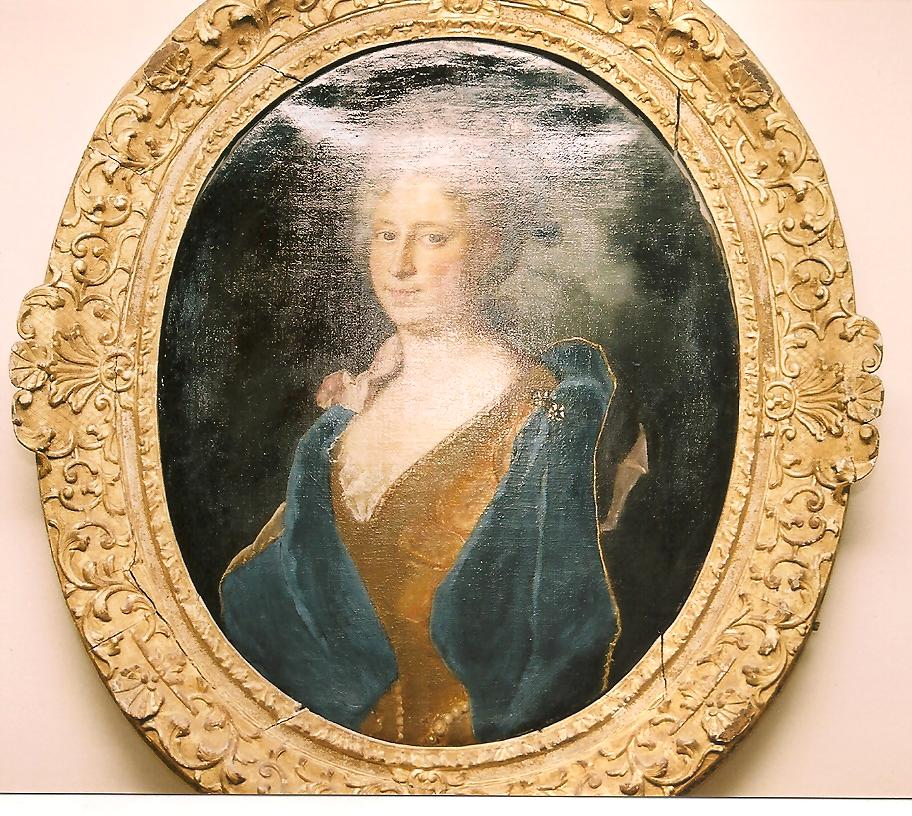 Hyacinthe Rigaud : Madeleine Bernard (vers 1701, coll. privée, cl. Ph. Cachau)