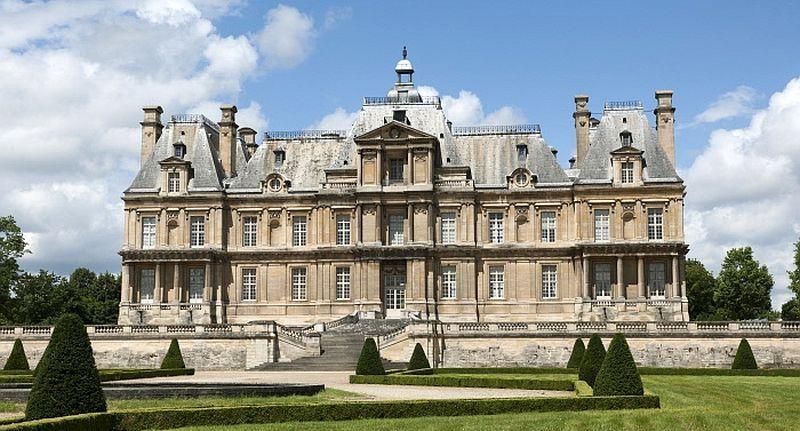 Château de Maisons, côté jardin