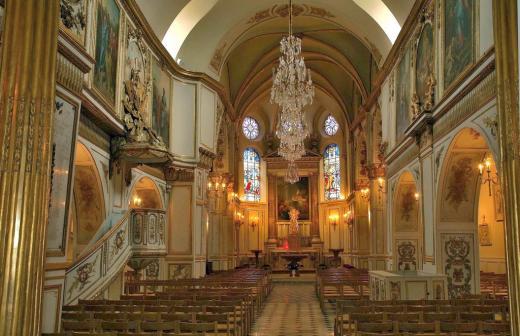 Mansart de Jouy, église de Brunoy