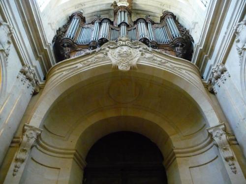 Jacques Hardouin-Mansart de Sagonne, tribune d'orgue, Saint-Louis de Versailles, vers 1750