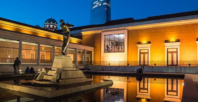 Musee des Beaux-Arts de Bilbao, cour intérieure