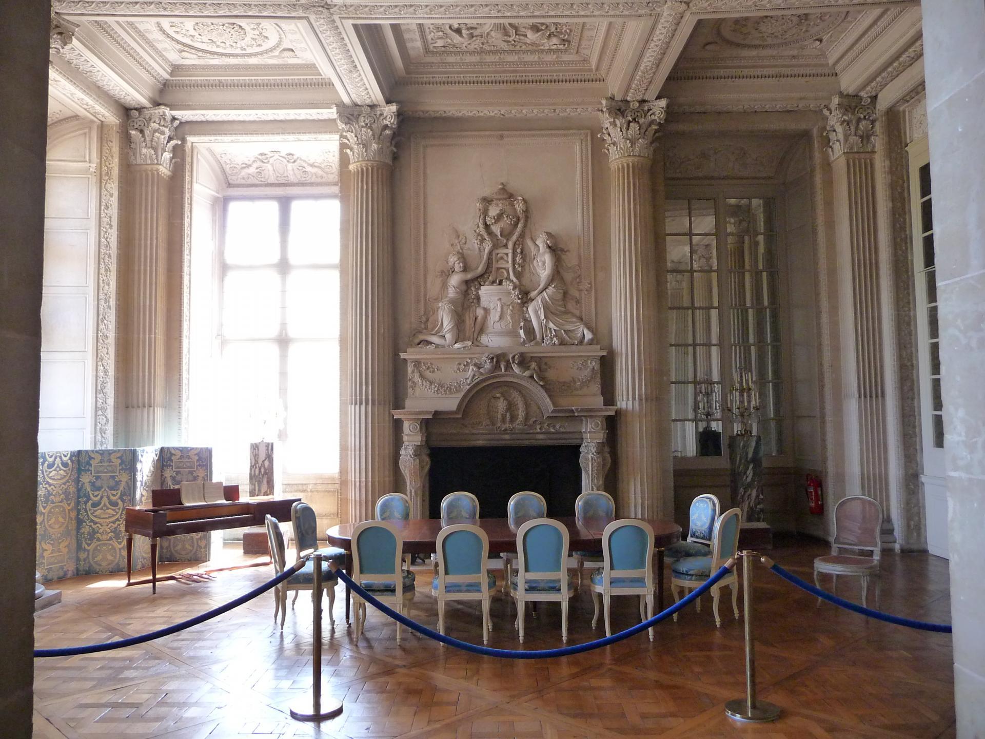 François-Joseph Bélanger : Salle à manger du comte d'Artois au château de Maisons, 1777-1784, cl. Ph. Cachau
