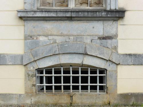 Soubassement du château (détail)