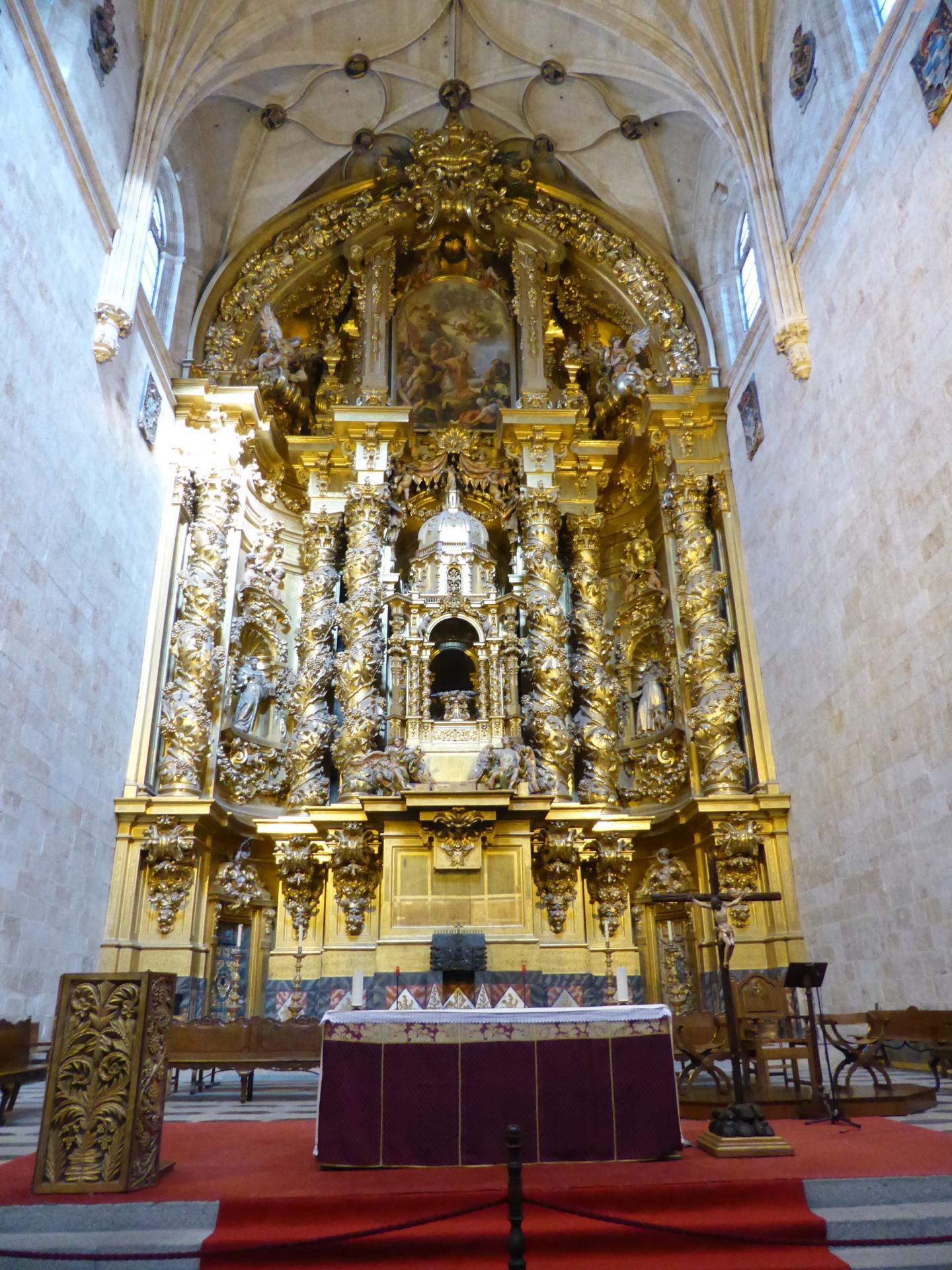 Retable du grand autel, XVIIIe siècle, cl. Ph. Cachau
