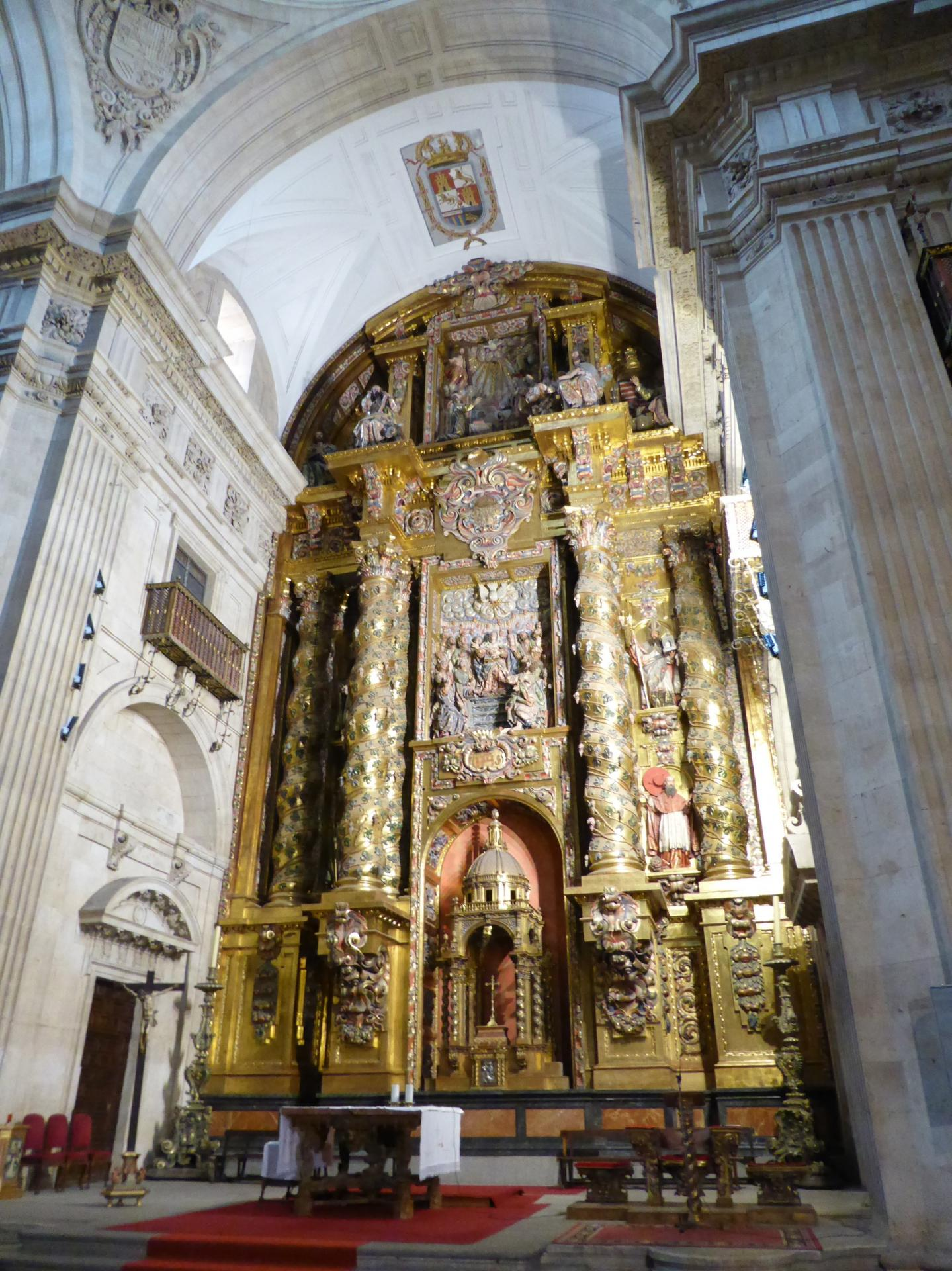 Retable de l'autel majeur, XVIIe siècle, cl. Ph. Cachau