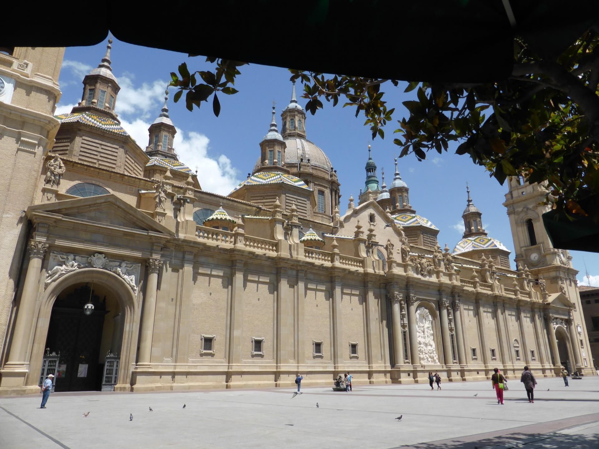 Saragosse, Nuestra Senora del Pilar, façade, XVIIIe siècle, cl. Ph. Cachau