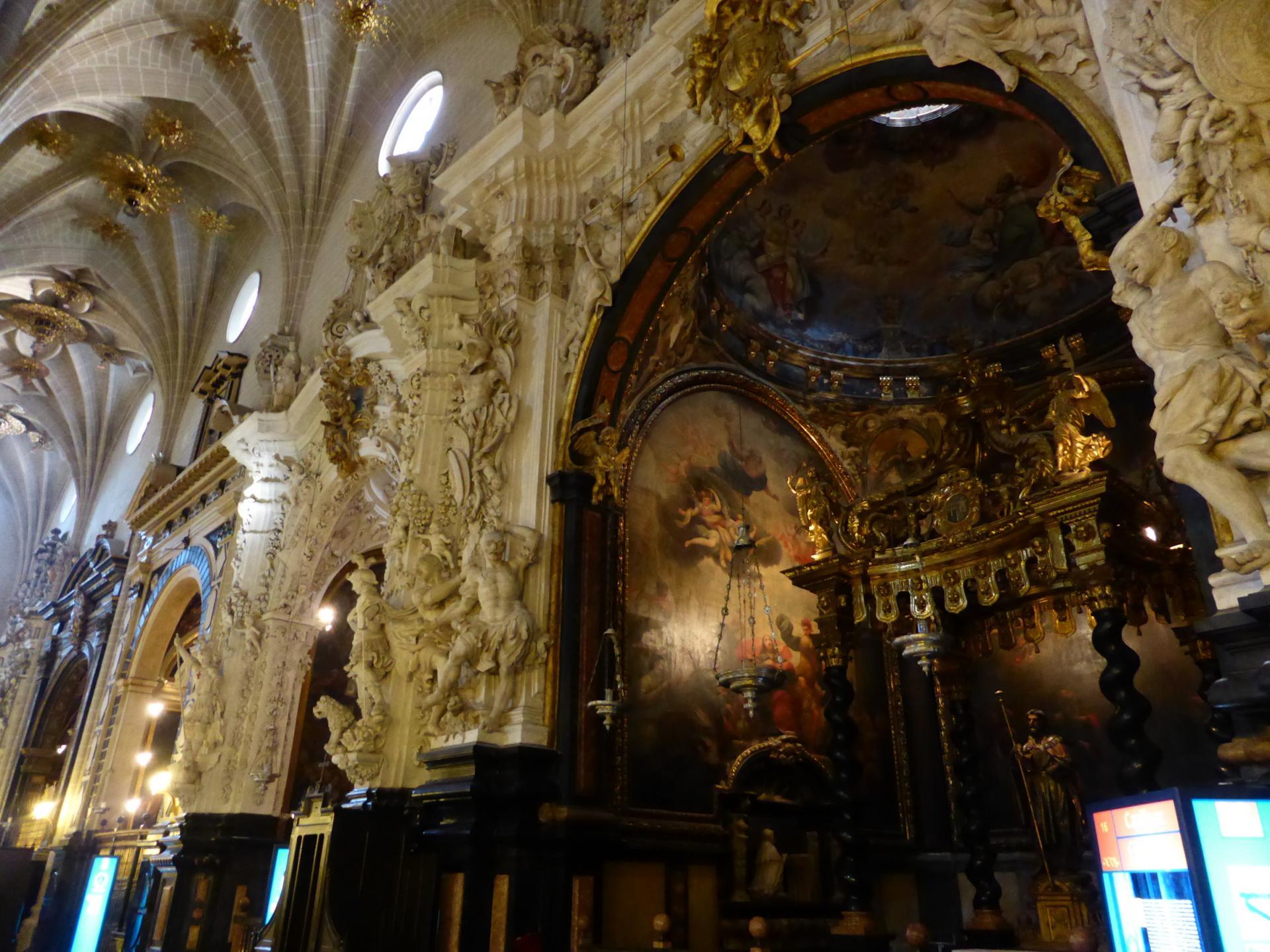 Saragosse, chapelles latérales de la Seo, XVIIe siècle, cl. Ph. Cachau