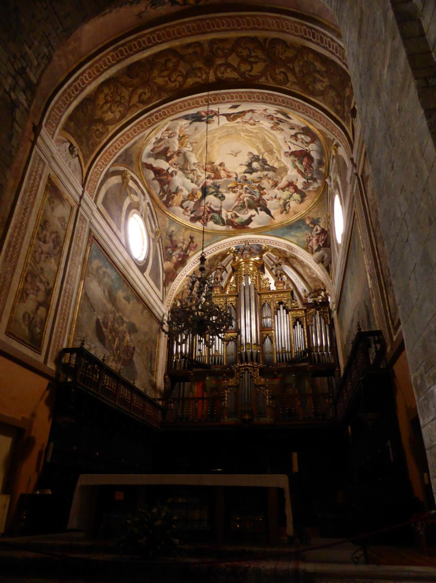 Cathédrale de Jaca, le choeur, XVIIIe siècle, cl. Ph. Cachau