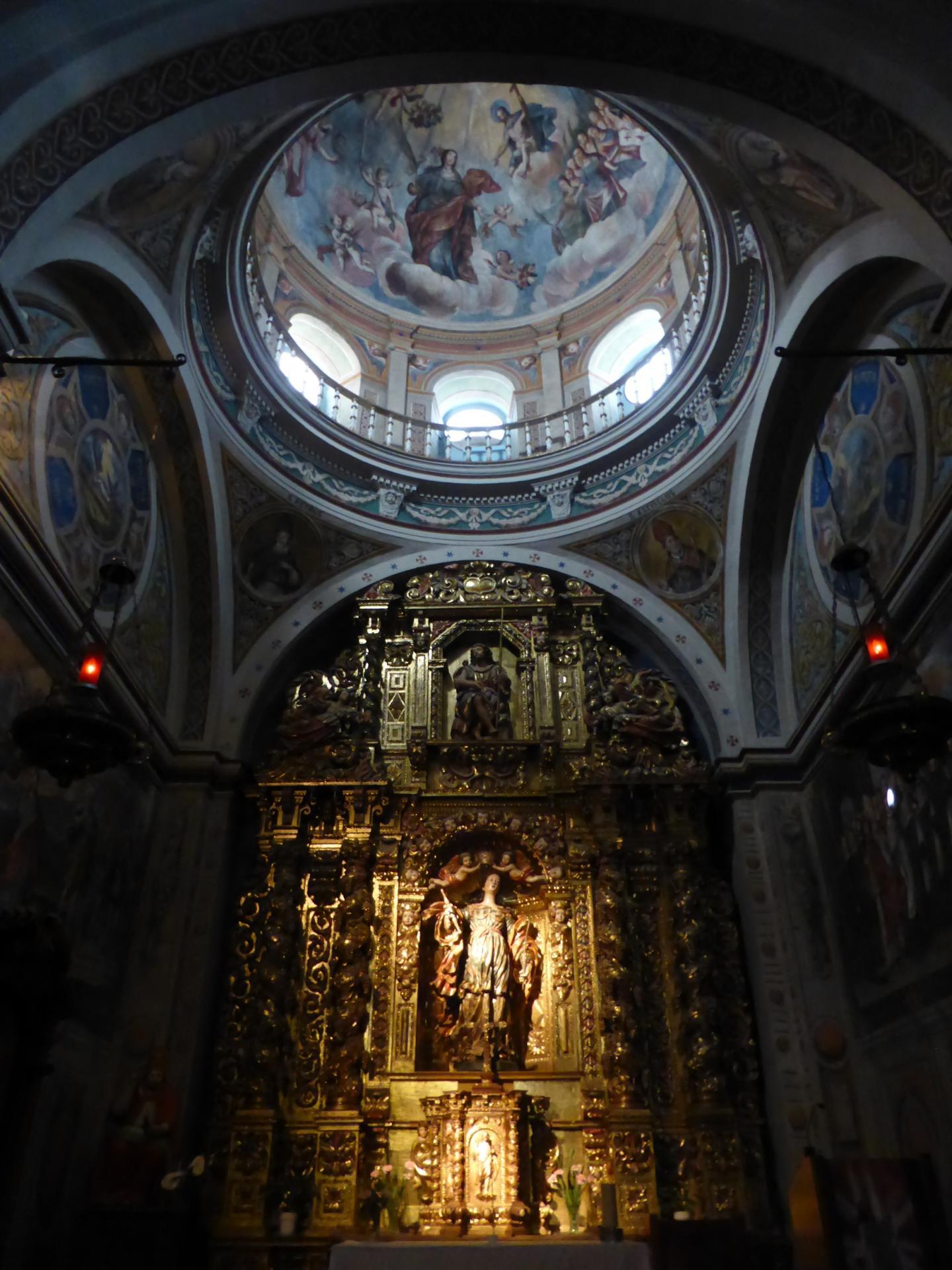 Cathédrale de Jaca, chapelle latérale, XVIIIe siècle, cl. Ph. Cachau