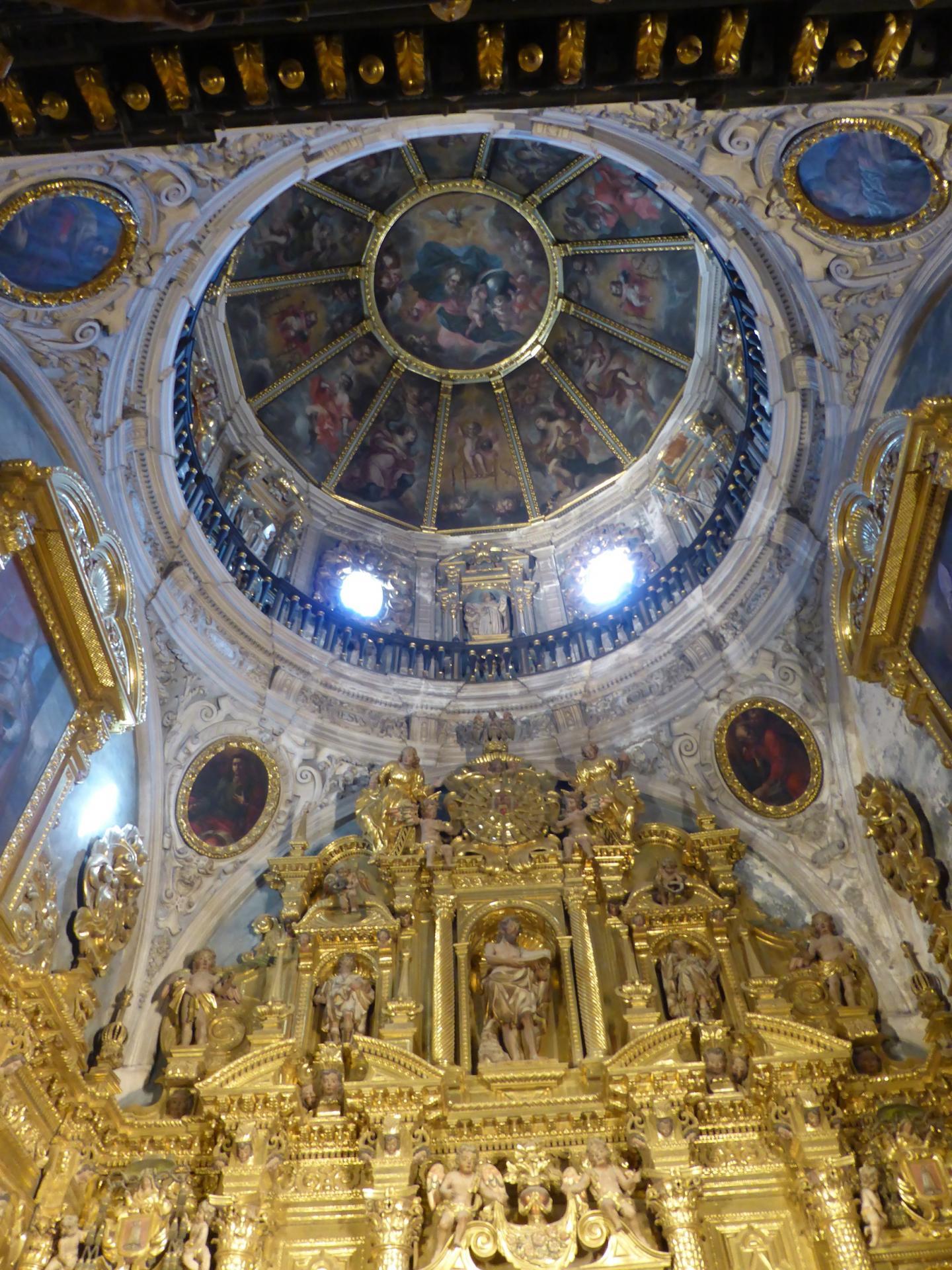 Cathédrale de Huesca, chapelle latérale, XVIIe, cl. Ph. Cachau