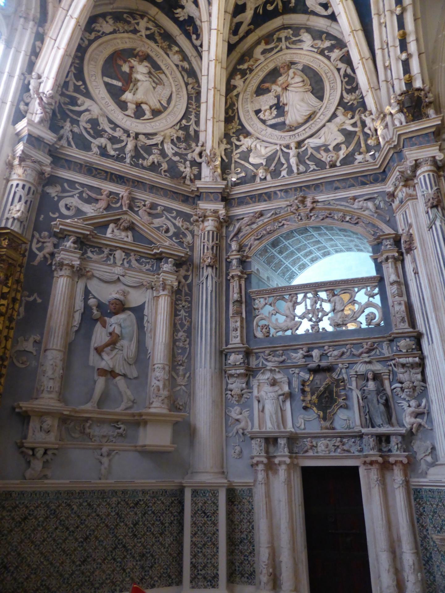 Palencia, chapelle latérale du chevet, XVIIe siècle, détail, cl. Ph. Cachau