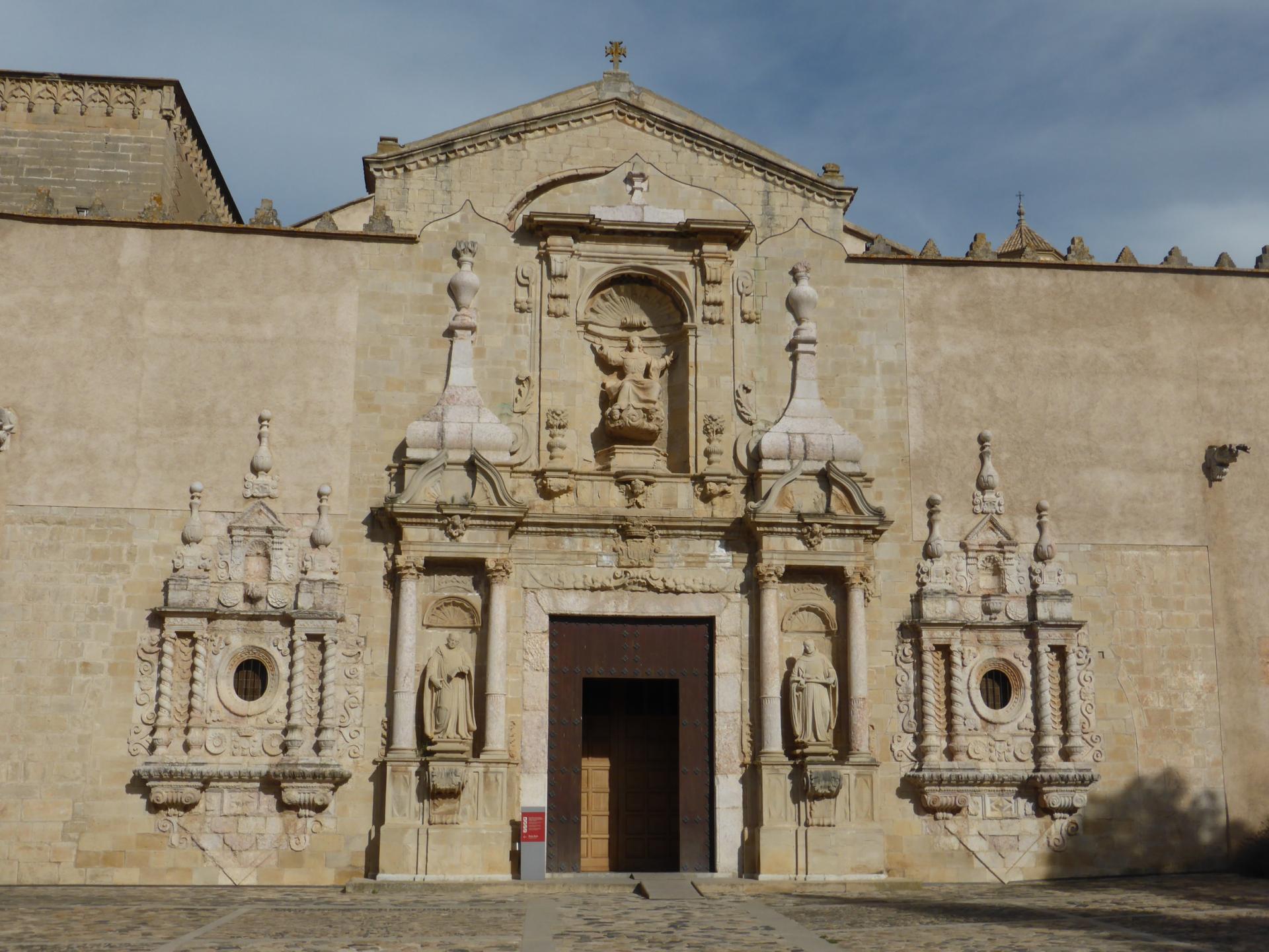 Monastère royal Santa Maria de Poblet, XVIIe siècle, cl. Ph. Cachau