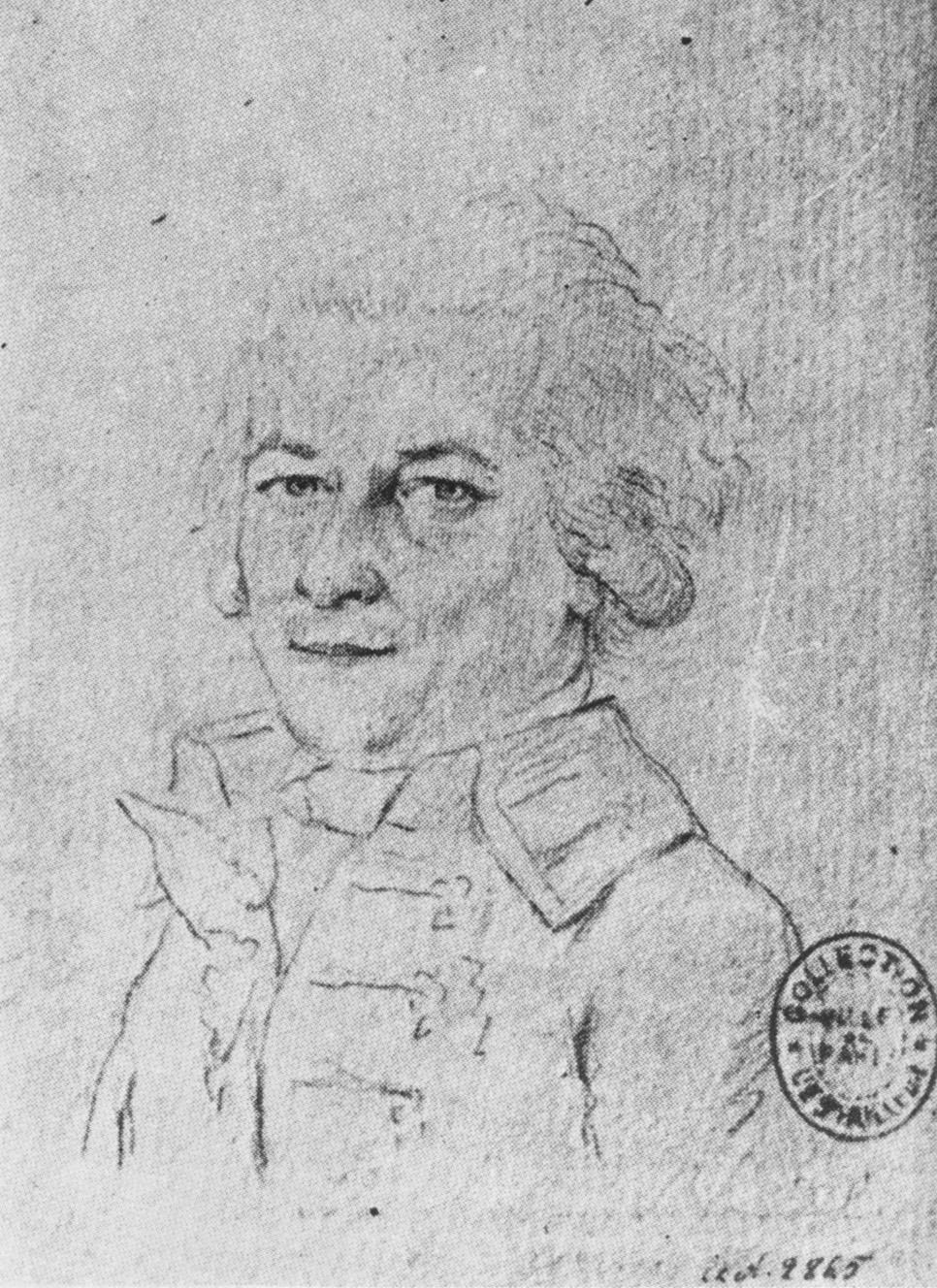 Jacques-Francois Blondel, portrait anonyme, Paris, Musée Carnavalet