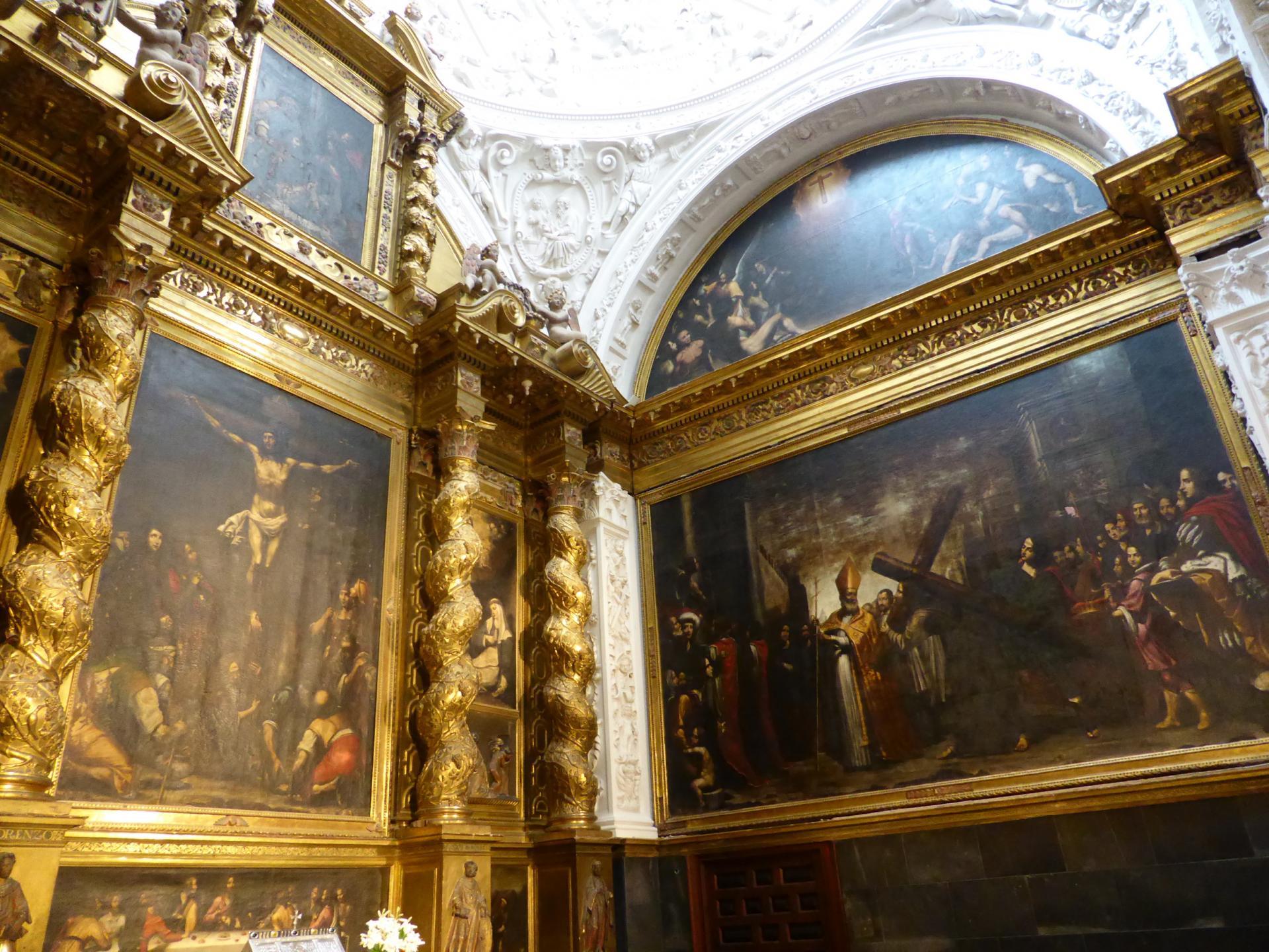 Saragosse, chapelle latérale de la Seo, XVIIe siècle, cl. Ph. Cachau