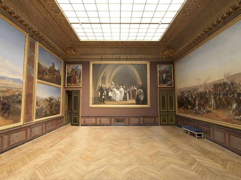 Salle de la Smala, château de Versailles, années 1840